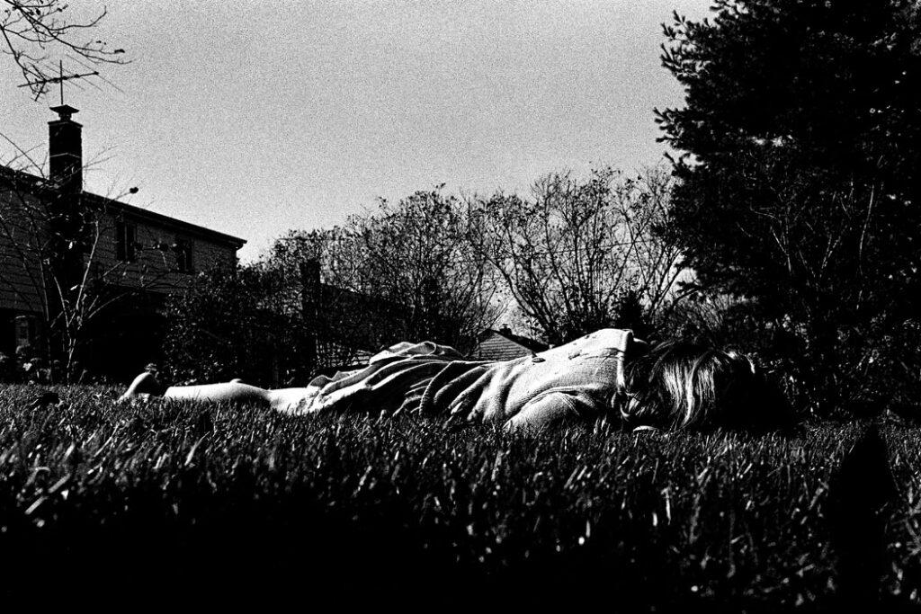 Jehsong Baak, Bailey lying on grass Chicago 2001, Là ou Ailleurs