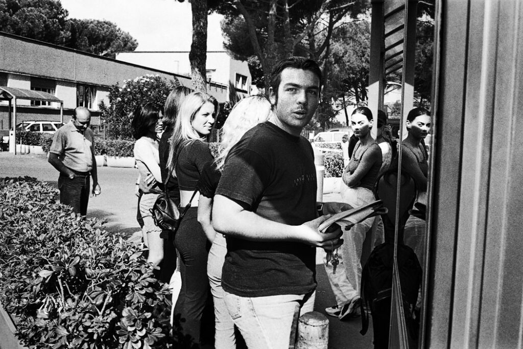 Jehsong Baak, Casting call, Rome 1999