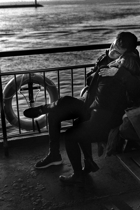 Jehsong Baak, Couple on a ferry 2019, Will You Still Love Me Tomorrow 2019