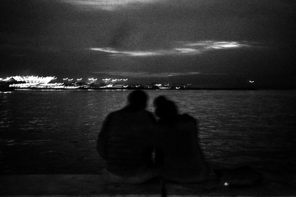 Jehsong Baak, Lovers after sunset, Istanbul 2019, Will You Still Love Me Tomorrow 2019
