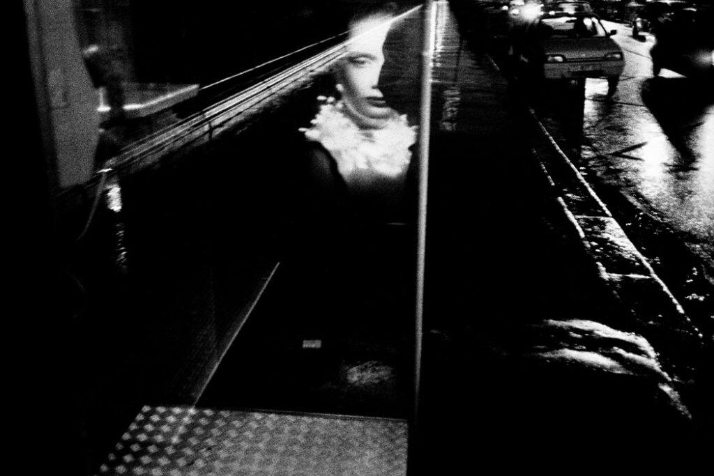 Jehsong Baak, Reflection of a woman, Paris 1999, Là ou Ailleurs