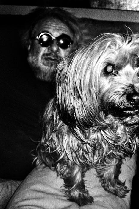 Jehsong Baak, Sacha and his dog, Paris 2016, Paris Diary