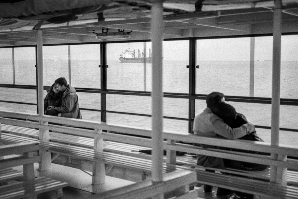 Jehsong Baak, Two couples in a ferry 2019, Will You Still Love Me Tomorrow 2019
